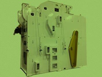 Enclosed Air Screen Cleaner